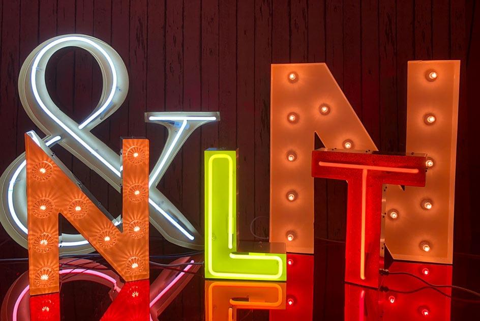 Marquee Világítóbetűk & Fairground lights